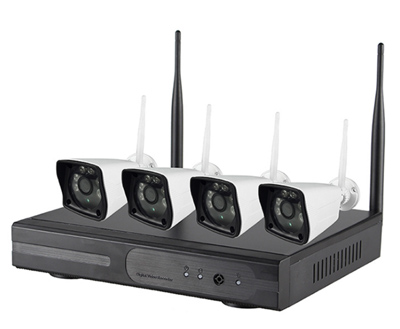 M406-NVR 4-channel wireless NVR and IPC kit