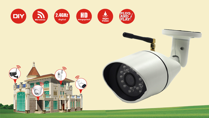 MWL609 - HD Megapixel Wireless Camera