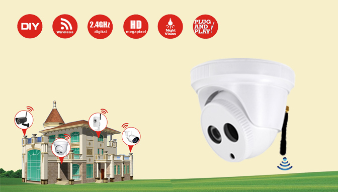 MWL610 - 1.0 megapixel Wireless IR Come Camera